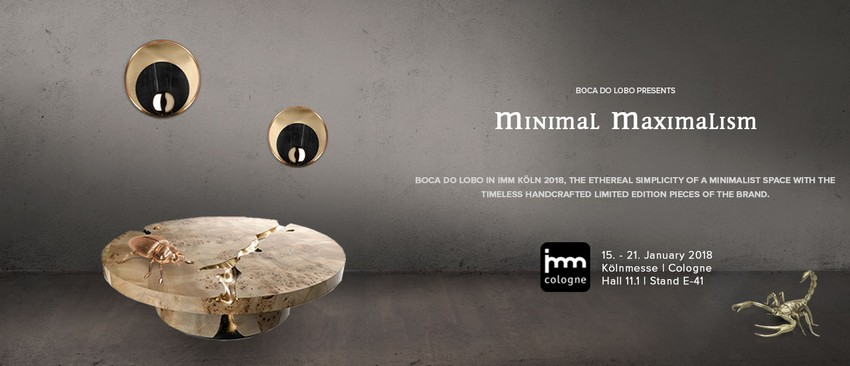 Find Out What Boca do Lobo Will Present at IMM Cologne 2018 imm cologne 2018 Find Out What Boca do Lobo Will Present at IMM Cologne 2018 1Find Out What Boca do Lobo Will Present at IMM Cologne 2018
