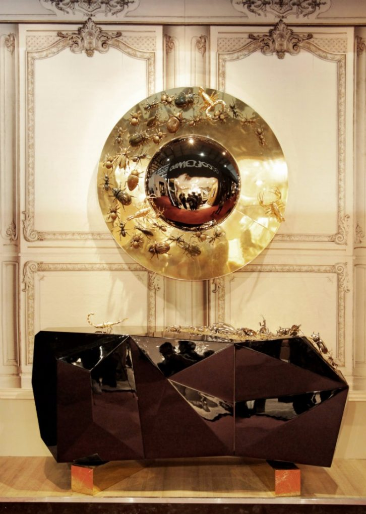 Find Out What Boca do Lobo Will Present at IMM Cologne 2018 imm cologne 2018 Find Out What Boca do Lobo Will Present at IMM Cologne 2018 Convex mirror by boca do lobo