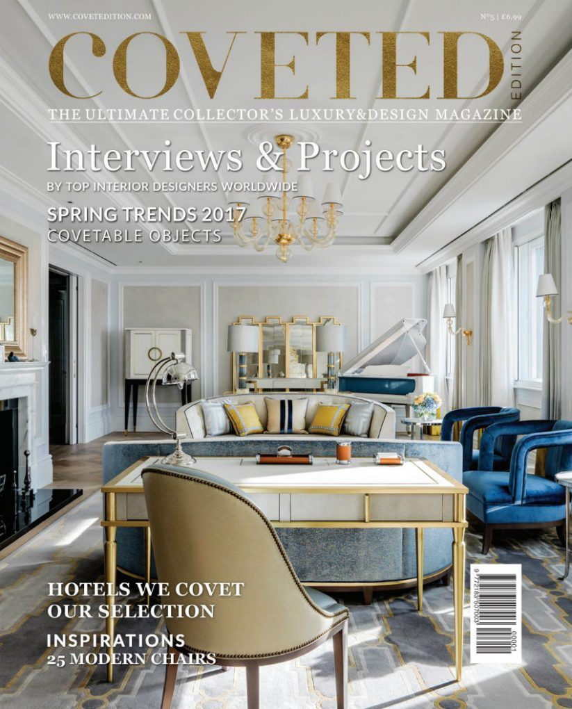 5 interior design magazines to buy in 2018 for Luxury home design magazine