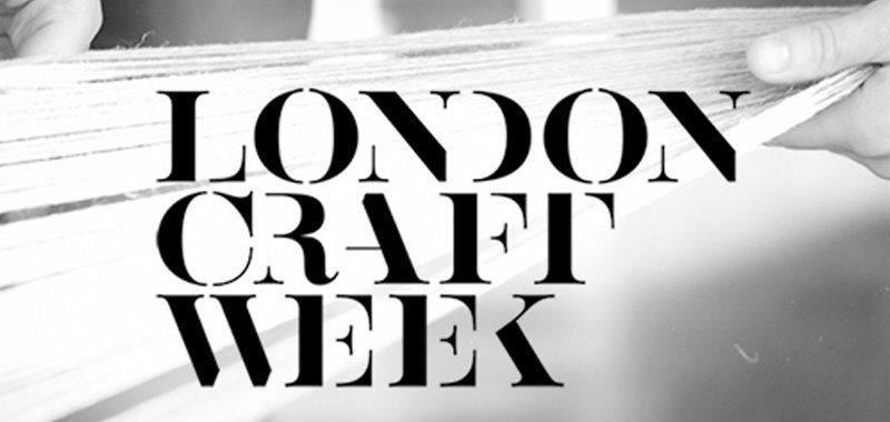 Presenting The London Craft Week 2018
