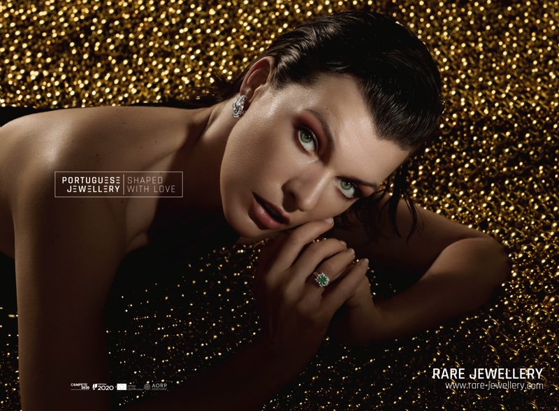 Acording to Christie's, The Luxury Market Is Growing Worldwide  According to Christie's, The Luxury Market Is Growing Worldwide milla jovovich portuguese jewellery campaign06