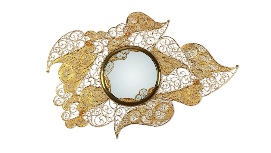 Discover The Secrets of Filigree at the Craftmanship Summit 2018 secrets of filigree Discover The Secrets of Filigree at the Craftsmanship Summit 2018 Filigree Mirror by Boca do Lobo 3 1