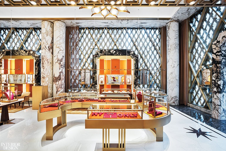 Step Inside Bulgari's Renovated Store in NYC Designed by Peter Marino peter marino Step Inside Bulgari's Renovated Store in NYC Designed by Peter Marino Peter Marino Renovates Bulgari New York 10