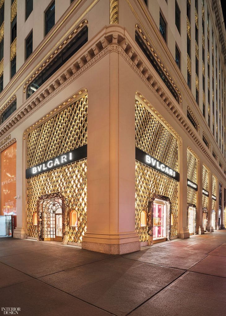 Step Inside Bulgari's Renovated Store in NYC Designed by Peter Marino peter marino Step Inside Bulgari's Renovated Store in NYC Designed by Peter Marino Peter Marino Renovates Bulgari New York 18