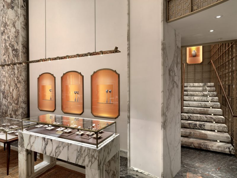 Step Inside Bulgari's Renovated Store in NYC Designed by Peter Marino peter marino Step Inside Bulgari's Renovated Store in NYC Designed by Peter Marino Peter Marino Renovates Bulgari New York 2
