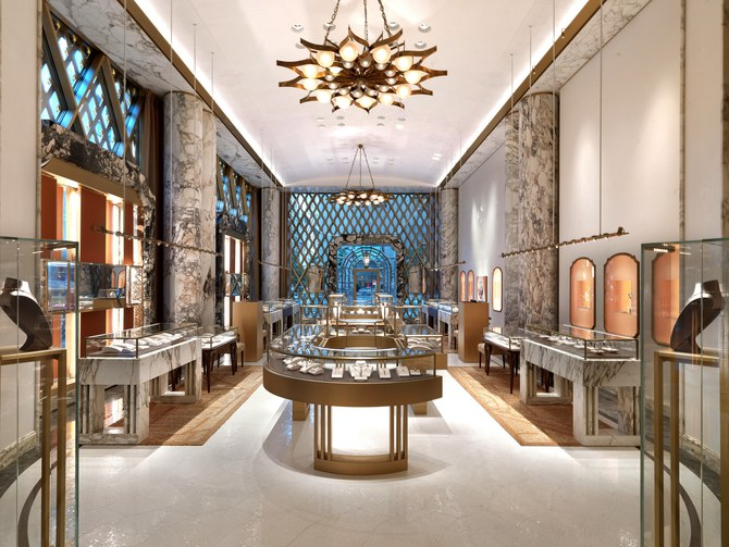 Step Inside Bulgari's Renovated Store in NYC Designed by Peter Marino peter marino Step Inside Bulgari's Renovated Store in NYC Designed by Peter Marino Peter Marino Renovates Bulgari New York 3