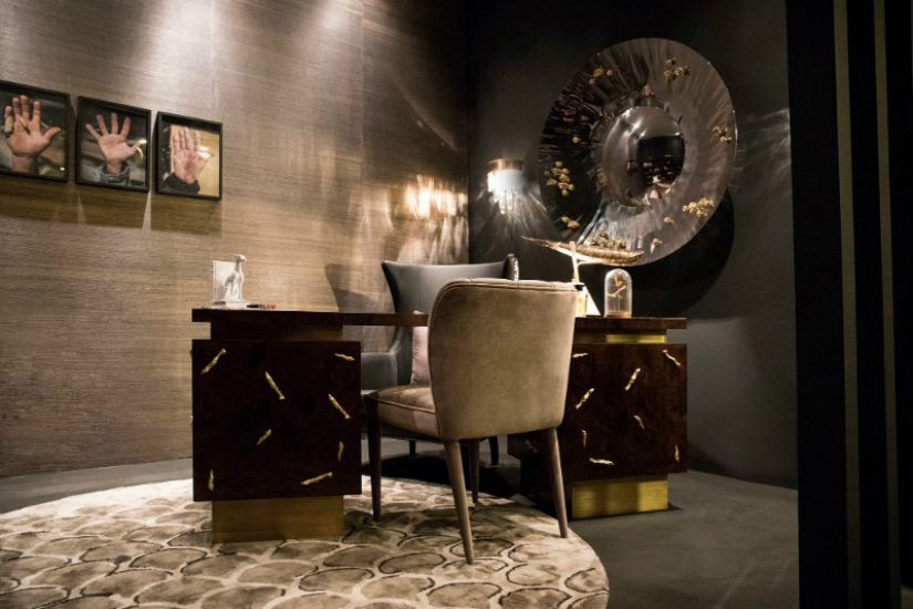 Presenting a Stunning and Elegant Luxury Furniture Collection furniture collection Presenting a Stunning and Elegant Nature Inspired Luxury Furniture Collection Baraka office 1