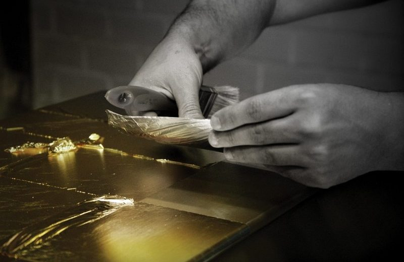 The Amazing World of the Leaf Gilding Technique Leaf Gilding The Amazing World of the Leaf Gilding Technique Leaf Gilding Is One of the Worlds Most Stunning Decorative Techniques 1 1