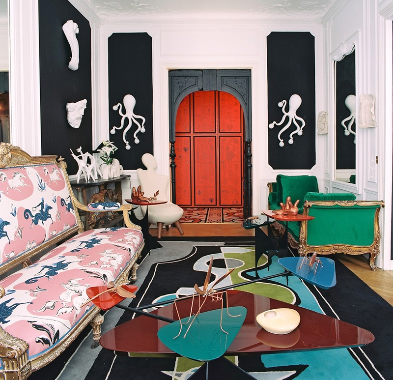 Presenting the Style of Vincent Darré vincent darré Presenting the Style of Vincent Darré The best interior design projects by Vincent Darr   I Lobo you6