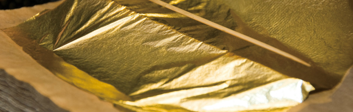 The Amazing World of the Leaf Gilding Technique