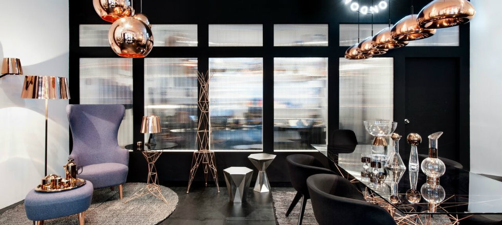 Design News Tom Dixon opens Showroom at New York  Design News: Tom Dixon opens Showroom at New York Design News Tom Dixon opens Showroom at New York