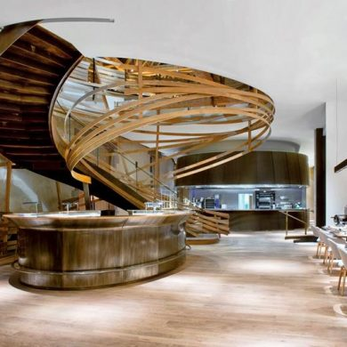 isaloni 2018 Luxury Brands to Watch at iSaloni 2018 Moscow CovetED Maison et Objet 2016 Gallery wild theme Les Haras Franc Restaurant 390x390
