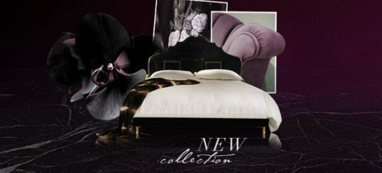 Vintage Interior Design Koket Vintage Interior Design at Salone del Mobile 2016 upholstered bed collection 2 slider koket love happens 770x350