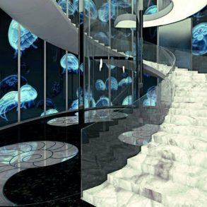 design news Design News: Interview with Architect Radu Dragan Medusa Stair Lobby Radu Dragan in an interview for Coveted 800x520 293x293