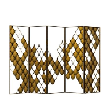 bloggers meeting Covet House London Celebrates Design With a Bloggers Meeting koi folding screen contemporary design by brabbu 1 390x390