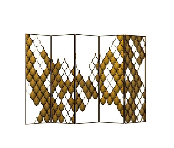 high point market style report High Point Market Style Report for Summer – Fall 2016 koi folding screen contemporary design by brabbu 1 585x500