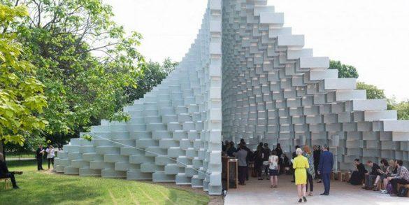 serpentine galleries Serpentine Galleries: Unique Design of Summer Houses 2016 e Bjarke Ingels Group Serpentine Galleries Unique Design of Summer Houses 2016 585x293