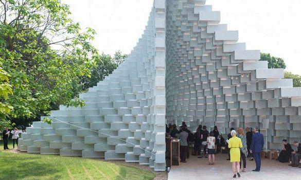 serpentine galleries Serpentine Galleries: Unique Design of Summer Houses 2016 e Bjarke Ingels Group Serpentine Galleries Unique Design of Summer Houses 2016 585x350