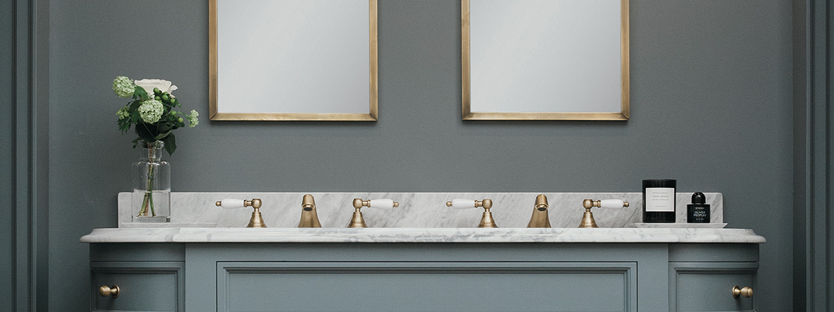 luxury bathroom Top Luxury Bathroom Exhibitors at Decorex 2016 PorterVanities DoubleStratfordCMYK 1