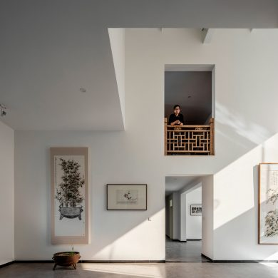 patrick norguet Patrick Norguet designs Colorful Interior for Okko Hotels Office Project Architects turn Beijing Factory into a Home Studio 4 390x390