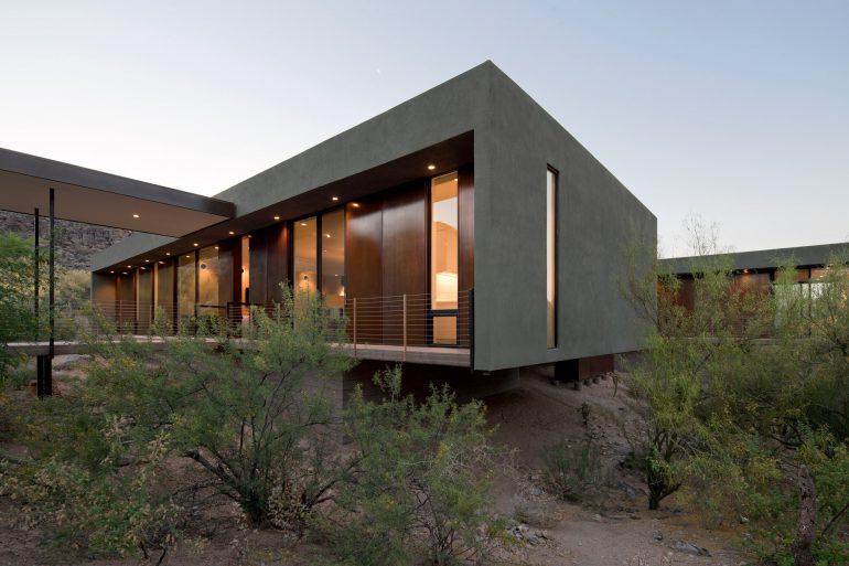 ibarra rosano Ibarra Rosano Designs Home Above the Desert in Arizona Ibarraro Rosano Designs Home Above the Desert in Arizona 1 770x513