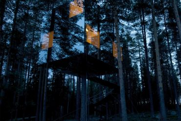 treehotel 3 Awesome Treehouses You Will Want to Sleep in at Sweden's Treehotel sweeden treehotel architecture tree houses 1 370x247