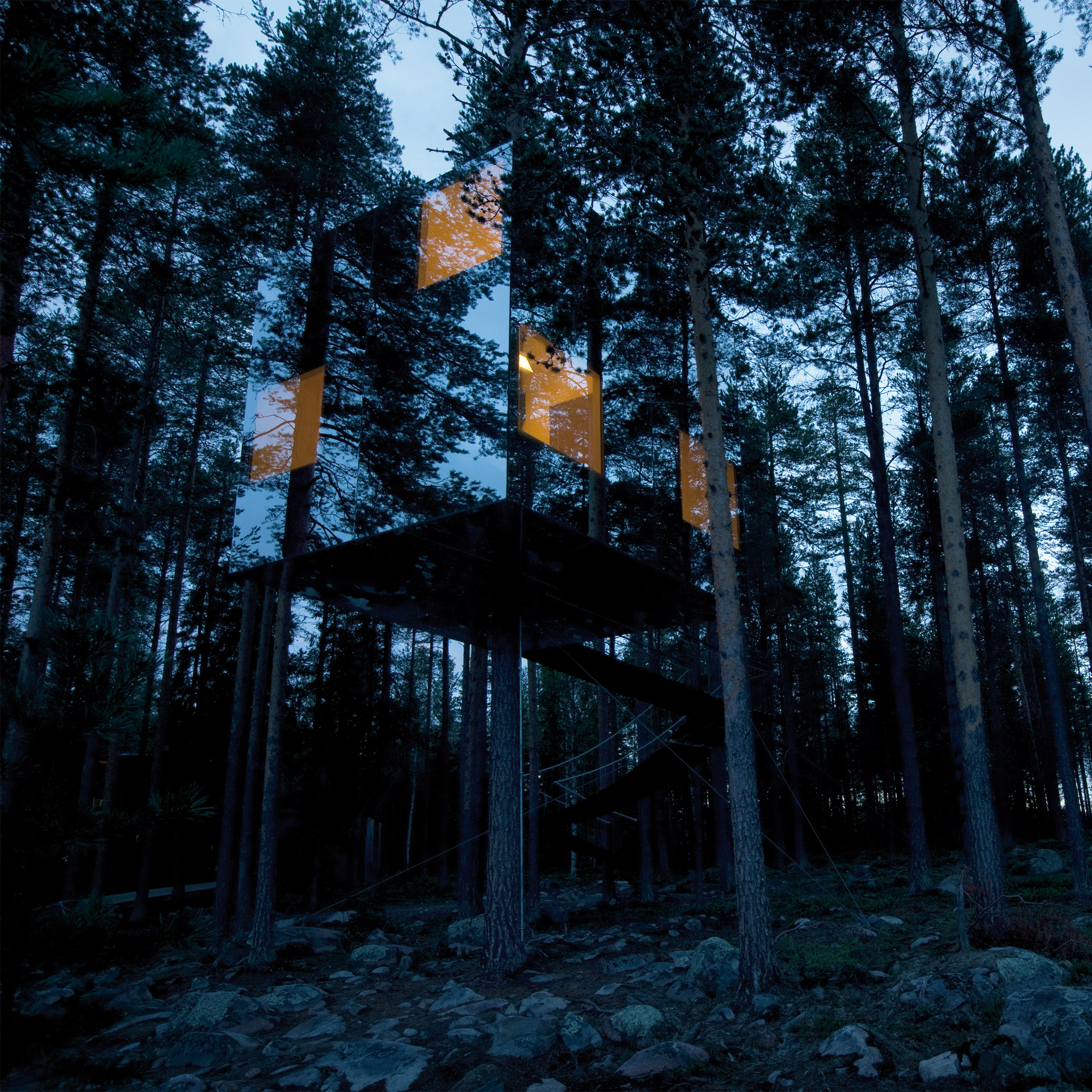 treehotel 3 Awesome Treehouses You Will Want to Sleep in at Sweden's Treehotel sweeden treehotel architecture tree houses 1
