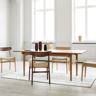 living room ideas Living Room Ideas For a Luxurious Interior Design Project Carl Hansen Son Re Releases Final Chair from Hans J Wegner Collection 2 390x390