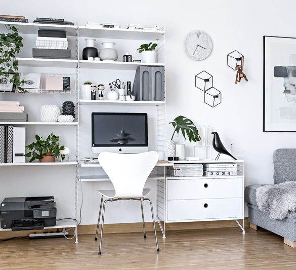 home office design A Tour Inside a Blogger's Home Office Design A Tour Inside a Bloggers Home Office Design 3 1 585x533