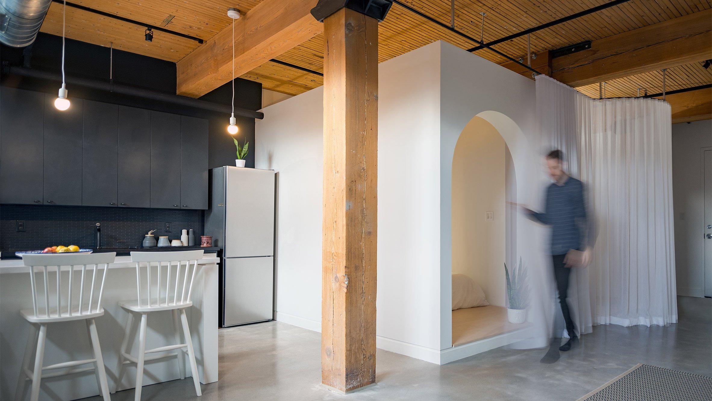 studioac StudioAC Redesigns Local Apartment With Minimal Sleeping Box StudioAC Redesigns Local Apartment With Minimal Sleeping Box 7
