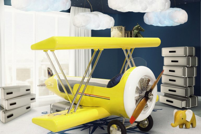 bedroom design How to Create an Airplane Inspired Bedroom Design Circu designs Stunning Airplane Bedroom Design For Kids 1 770x513