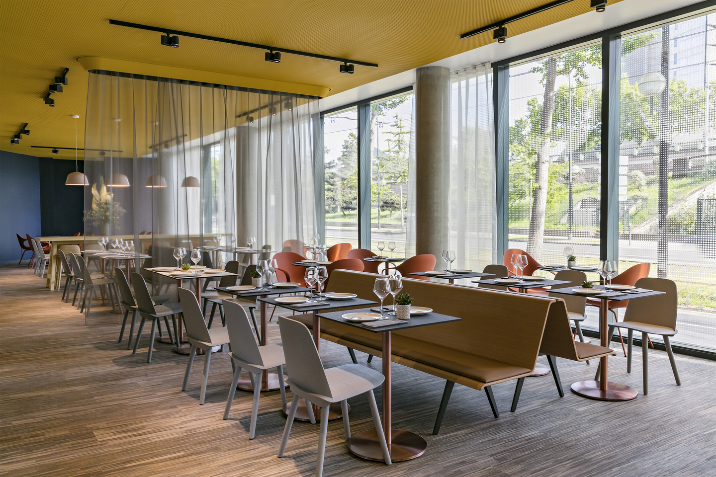 patrick norguet Patrick Norguet designs Colorful Interior for Okko Hotels Patrick Norguet designs Colorful Interior for Okko Hotels 9