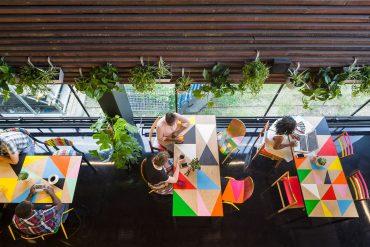 morag myerscough Morag Myerscough designs Colorful Cafe in Bernie Grants Arts Centre Morag Myerscough designs Colorful Cafe in Bernie Grants Arts Centre 3 370x247