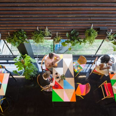 High-Point Market High-Point Market 2018 Fall Edition is Underway! Morag Myerscough designs Colorful Cafe in Bernie Grants Arts Centre 3 390x390