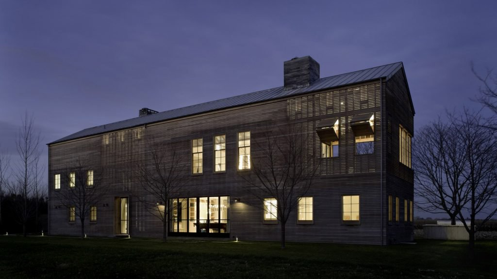 leroy street studio Louver House by Leroy Street Studio Features Slatted Timber Facades Louver House by Leroy Street Studio Features Slatted Timber Facades 2