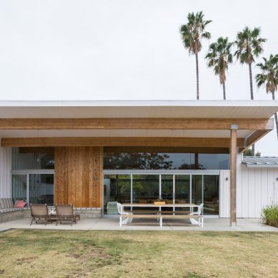 THE MOST LUXURIOUS VACATION HOMES AROUND THE GLOBE Studio Bestor Architecture designs Malibu Home for Beastie Boys Member 390x390