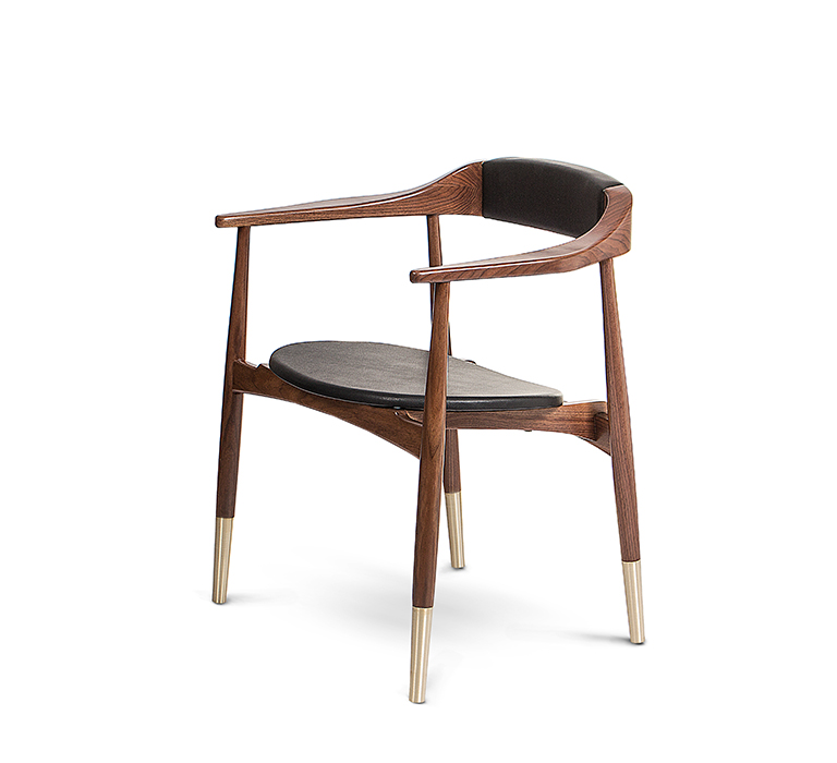 mat bar by haf studio Mat Bar by Haf Studio Features 1960's-Inspired Design perry dining chair zoom 02