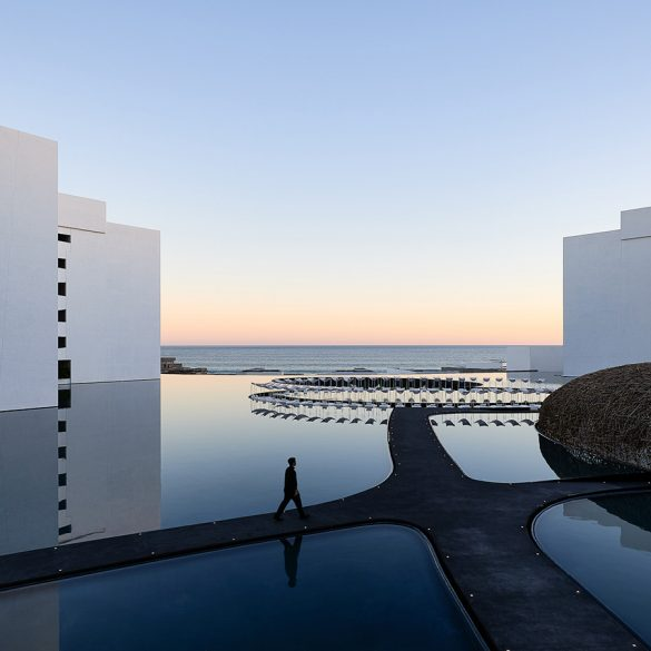 Hotel Mar Adentro by Taller Aragonés Surrounded by Expansive Pools hotel mar adentro Hotel Mar Adentro by Taller Aragonés Surrounded by Expansive Pools Hotel Mar Adentro by Taller Aragon  s Surrounded by Expansive Pools 13 585x585