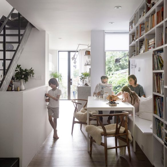 office of architecture Office of Architecture Expands Row House in Brooklyn Office of Architecture Expands Row House in Brooklyn 5 585x585