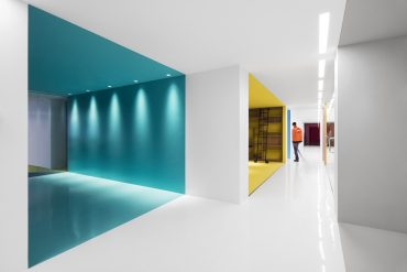 Playster Headquarters by ACDF is All About Vibrant Colors