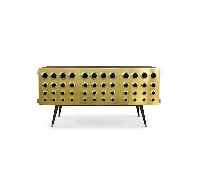10surdix Project by 10surdix features Iconic Mid-century Modern Furnishings monocles sideboard detail 01