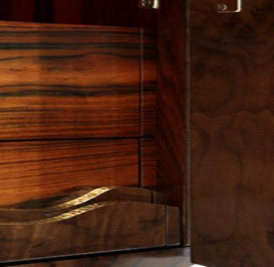 Brabbu Has Two New Fabulous Walnut Wood Pieces For Your House