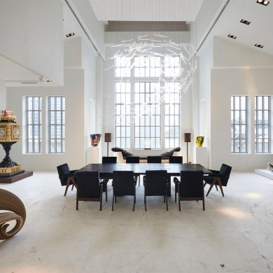 High-End Apartment Discover One Amazing High-End Apartments in New York City by Tessler Carpenters Workshop Gallery Julien Lombrail Loi  c Le Gaillard New York USA dezeen 1568 3 390x390