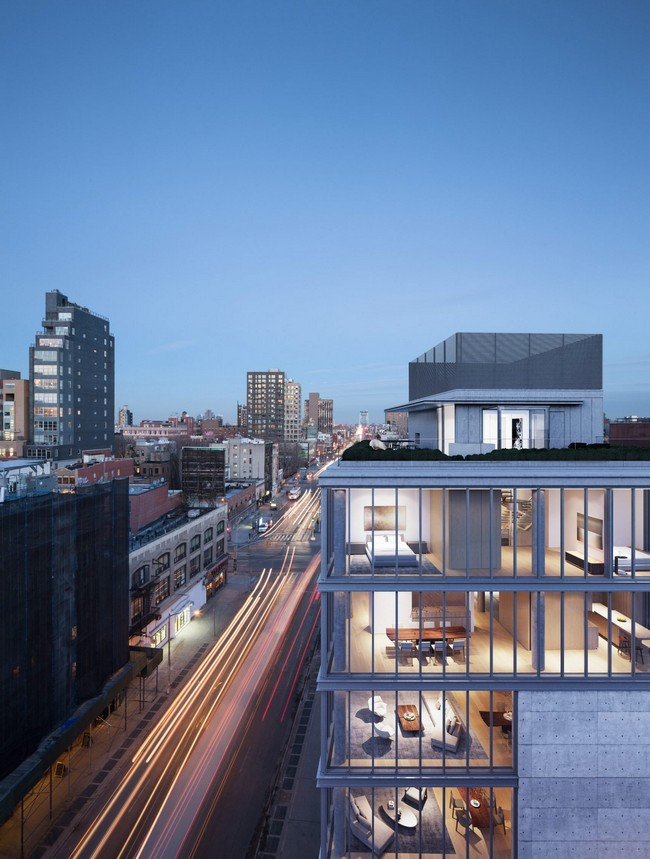 Rooftop Terrace Penthouse by Tadao Ando showcases Japanese Architecture at its best tadao ando Tadao Ando Showcases Japanese Architecture in NYC Residential Complex Rooftop Terrace Penthouse By Tadao Ando Showcases Japanese Architecture At Its Best 2