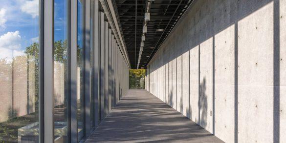 tadao ando Tadao Ando Showcases Japanese Architecture in NYC Residential Complex wrightwood 659 tadao ando interiors exhibit design chicago illinois usa dezeen 2364 col 9 585x293