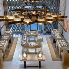 Step Inside Bulgari's Renovated Store in NYC Designed by Peter Marino peter marino Step Inside Bulgari's Renovated Store in NYC Designed by Peter Marino Peter Marino Renovates Bulgari New York 1 293x293