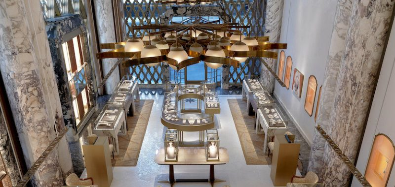 Step Inside Bulgari's Renovated Store in NYC Designed by Peter Marino new york city guide The Ultimate New York City Guide Designers Should Follow Peter Marino Renovates Bulgari New York 1