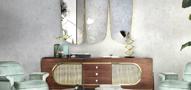 modern furniture designs 10 Must-See Modern Furniture Designs Midcentury modern living room decor from Essential Home