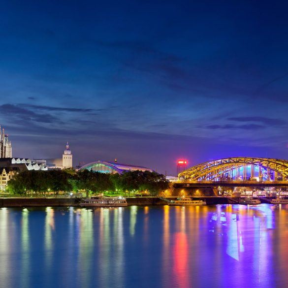 reasons to visit cologne City Guide: 5 reasons to visit Cologne Hyatt Regency Cologne P256 Skyline