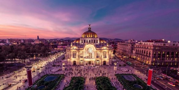 Mexico City Design Guide mexico city design guide Mexico City Design Guide Palacio de Bellas Artes in Mexico City 20170329 min 585x293